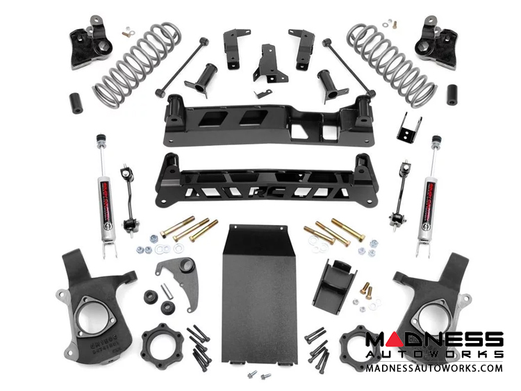 "Chevy Suburban 2WD Suspension Lift Kit - 6"" Lift"